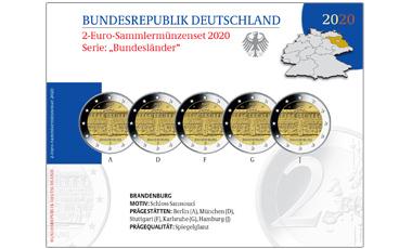 Abonnement 2-Euro-Bundesländerserie