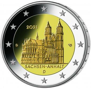 """2-Euro-Sammlermünzen-Set 2021 """"Bundesländer"""""""