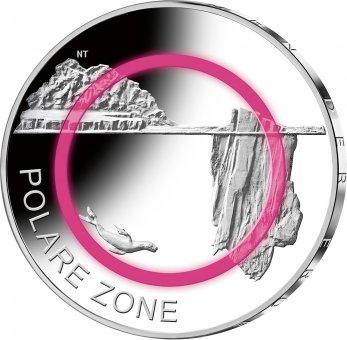 "5-Euro-Polymerring-Sammlermünze 2021 ""Polare Zone"""