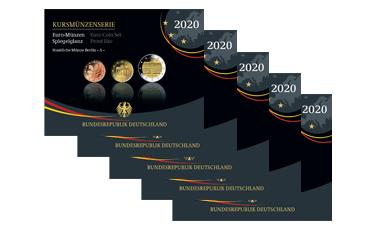 Abonnement Kursmünzenserie Sammlermünzen-Set