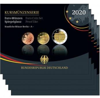 Kursmünzenserie Sammlermünzen-Set 2020