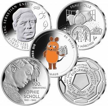 Abonnement 20-Euro-Sammlermünzen