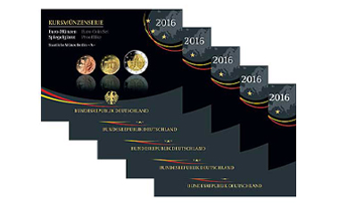 Kursmünzenserie Sammlermünzen-Set 2016