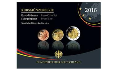 Kursmünzenserie Sammlermünzen 2016