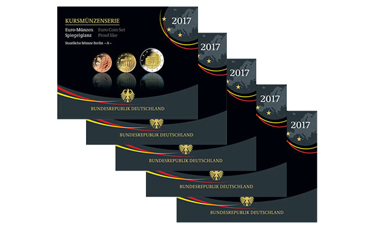 Kursmünzenserie Sammlermünzen-Set 2017