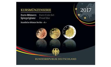 Kursmünzenserie Sammlermünzen 2017
