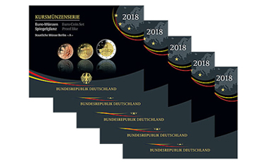 Kursmünzenserie Sammlermünzen-Set 2018