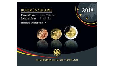 Kursmünzenserie Sammlermünzen 2018