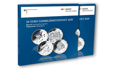 Abonnement 20-Euro-Sammlermünzen-Set Silber