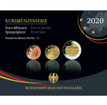 Kursmünzenserie Sammlermünzen 2020