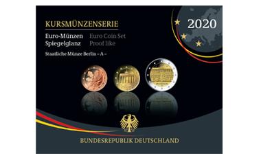 Abonnement Kursmünzenserie Sammlermünzen