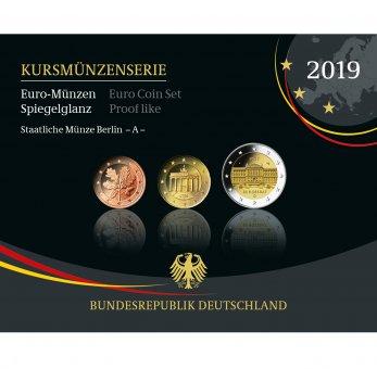 Kursmünzenserie Sammlermünzen 2019